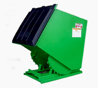 Roura recycling hopper